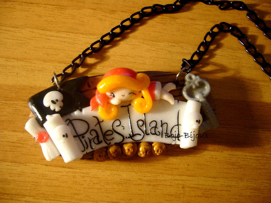 Necklace 'Pirates' Island' by Bojo-Bijoux