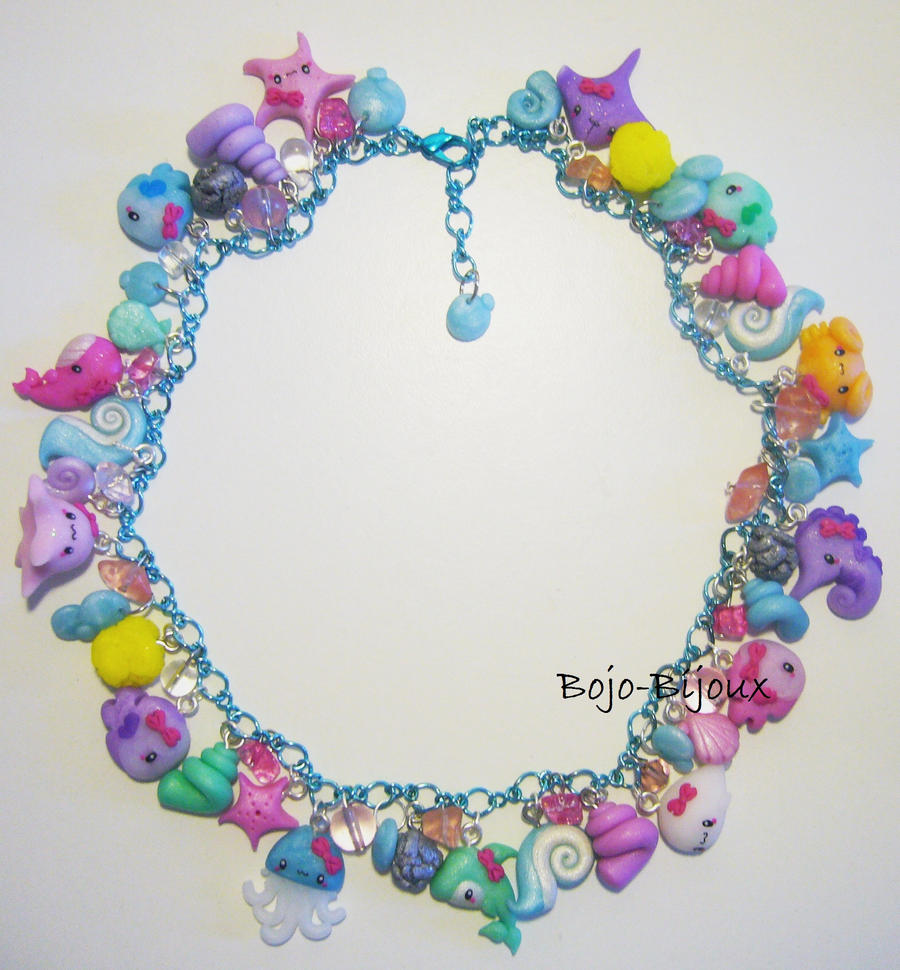 Necklace 'Sea Life' by Bojo-Bijoux