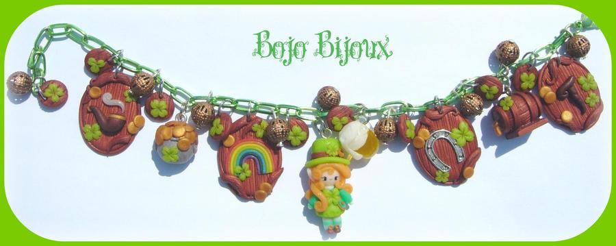 Leprechaun Bracelet by Bojo-Bijoux