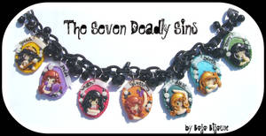 The Deadly sins Necklace