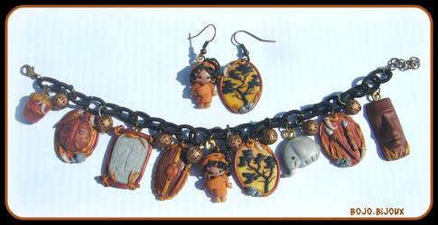 African Culture Bracelet by Bojo-Bijoux