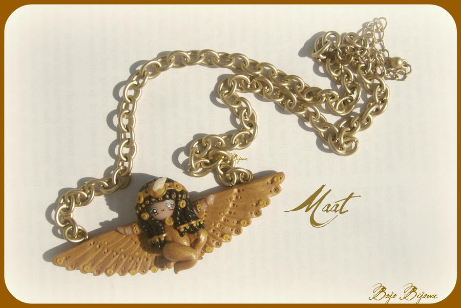 Maat Necklace by Bojo-Bijoux