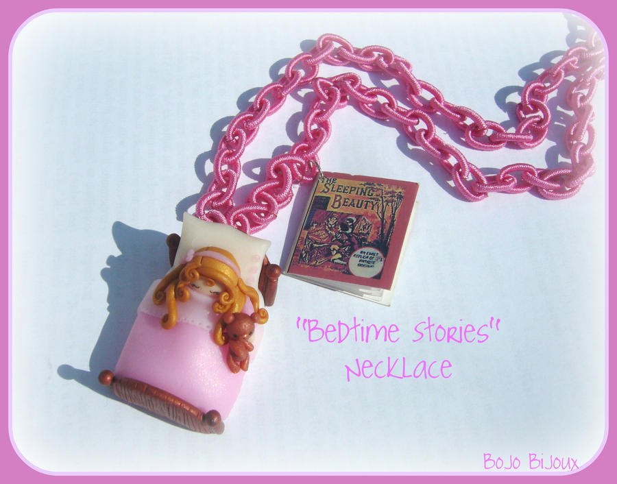 Bedtime stories Necklace by Bojo-Bijoux