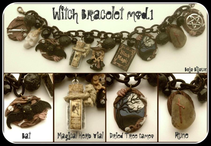 Witch Bracelet mod 1 by Bojo-Bijoux