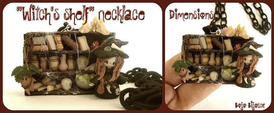 """""""Witch's shelf"""" Necklace by Bojo-Bijoux"""