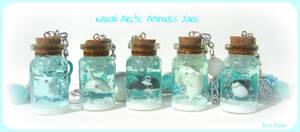 Kawaii Arctic Animals Jars
