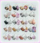 Kawaii cats earrings