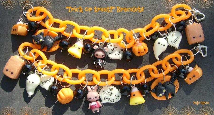 Kawaii Halloween Bracelets by Bojo-Bijoux on DeviantArt