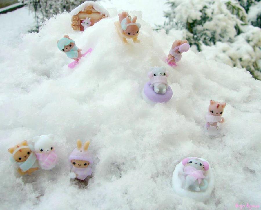 Charms in the snow XD by Bojo-Bijoux