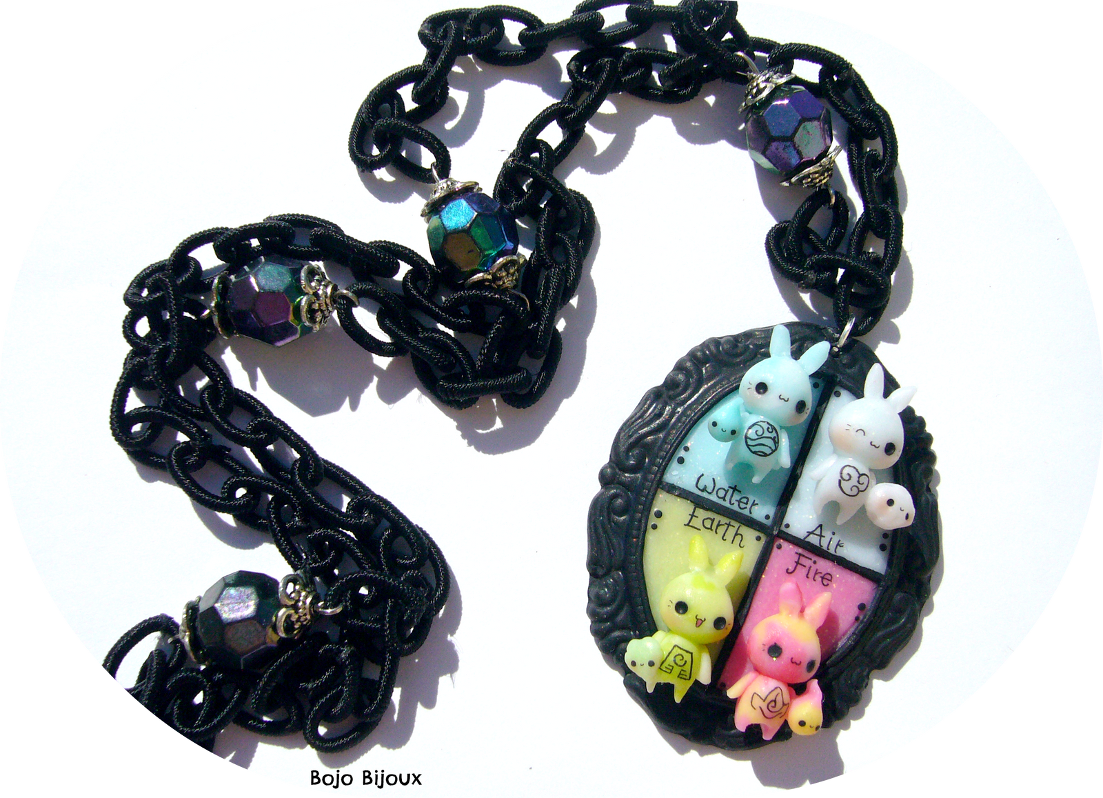 Elemental Bunnies by Bojo-Bijoux