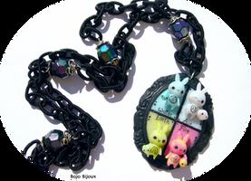 Elemental Bunnies by Bojo-Bijoux