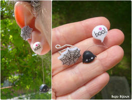 Kawaii Spider Ear Cuff by Bojo-Bijoux