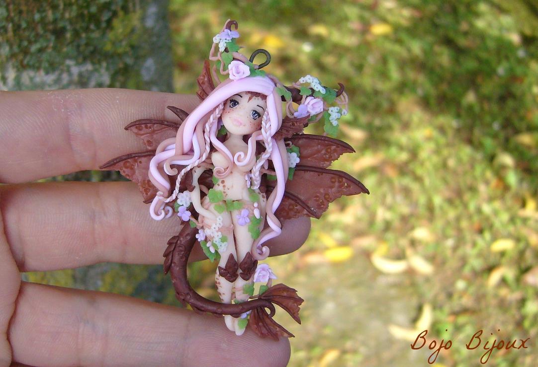 Tiamat: Nymph/Dragon hybrid by Bojo-Bijoux