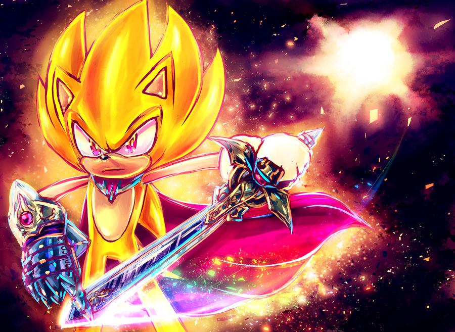 Super Sonic - I don't need no armour.