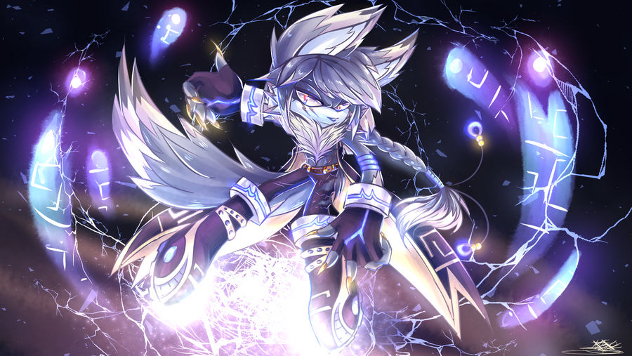 Aspen the Siberian Husky Wolf - oc