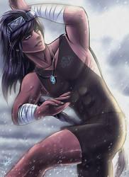 B.R.M Commander - aot Neo Uzimiro (gender bend.