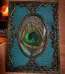 Sophisticated Elegance - Peacock Feather Frame