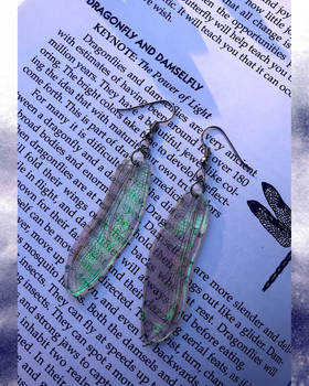 Ethereal Dragonfly Earrings (2)