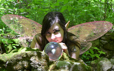Forest Faerie Photoshoot (2)