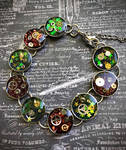 Illusion of Time - Steampunk Bracelet (2)