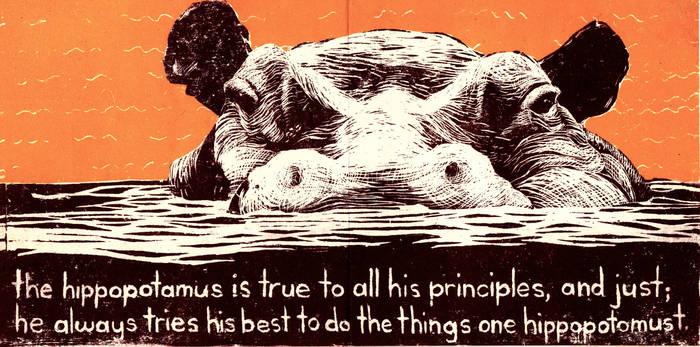 Habits of the Hippo. Spread 3 by GiannaPergamo
