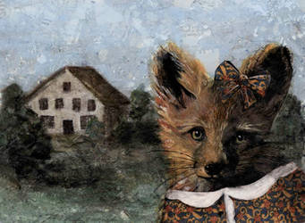 Fox by GiannaPergamo