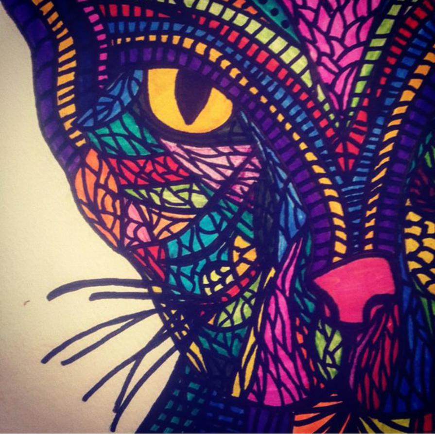 Cat thing by Hanana87