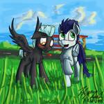 Thunderlane Has a Crush on Somepony~