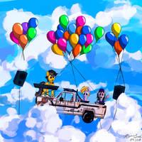 Midair Pony Fair Musician Announcement (Con Art)