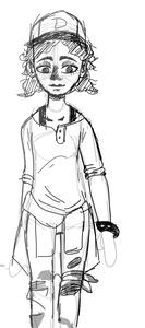 Clementine Rough Sketch by PingPongPonies