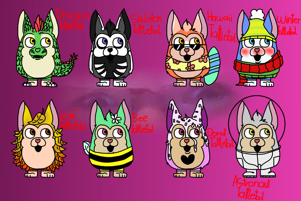 Tattletail adoption 2 (10 points) [1/8] by Creeperchild