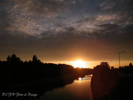 Sunset at the Canal 4