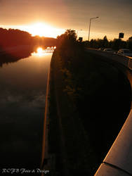 Sunset at the Canal 5