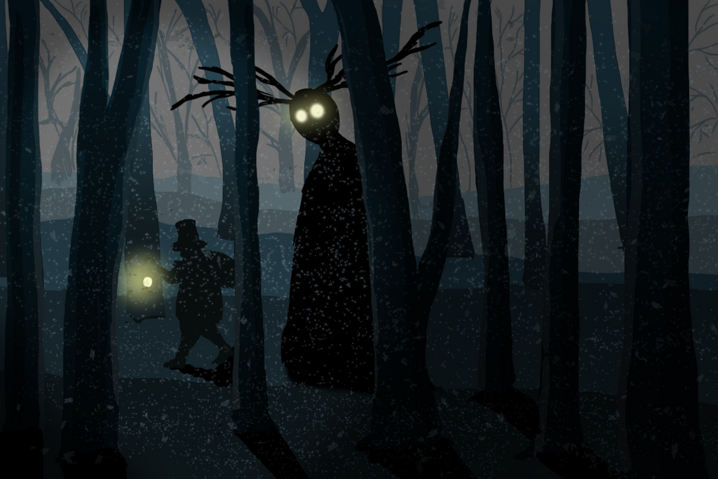 The woodsman and the beast by Speck--Of--Dust