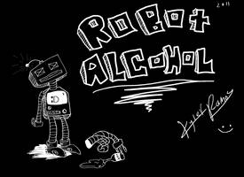 Robot Alcohol by ExploadingRabbits