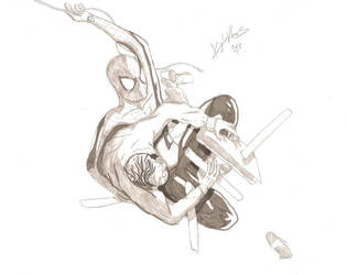 Spidey and Max by ExploadingRabbits