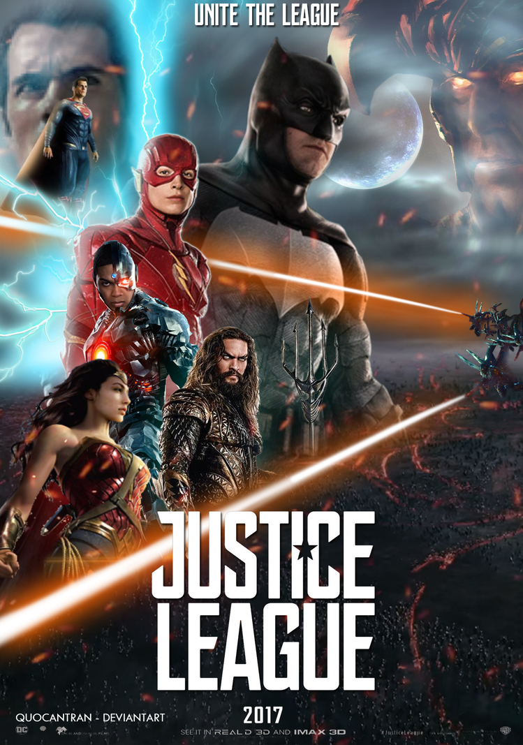 Justice League Poster 2nd by Quocantran by quocantran on ...