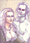 Shiera and Bloodraven