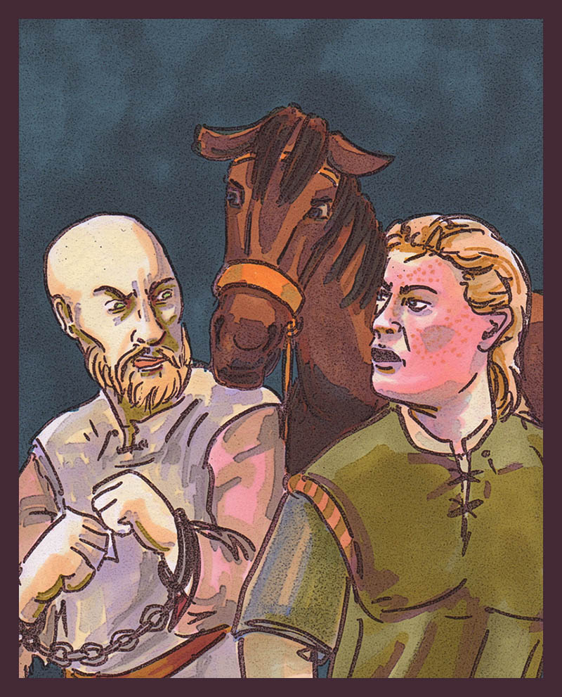 Jaime+Brienne, the Snark Years by kethryn