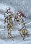 Theon and Jeyne