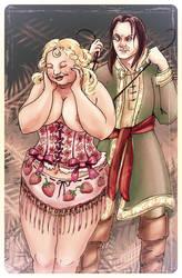 Fat Walda - bodice-ripper. by kethryn