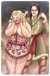 Fat Walda - bodice-ripper.