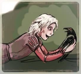 Ravenboy by kethryn