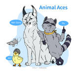 Ace Combat: Animal Aces by Volt-Draws