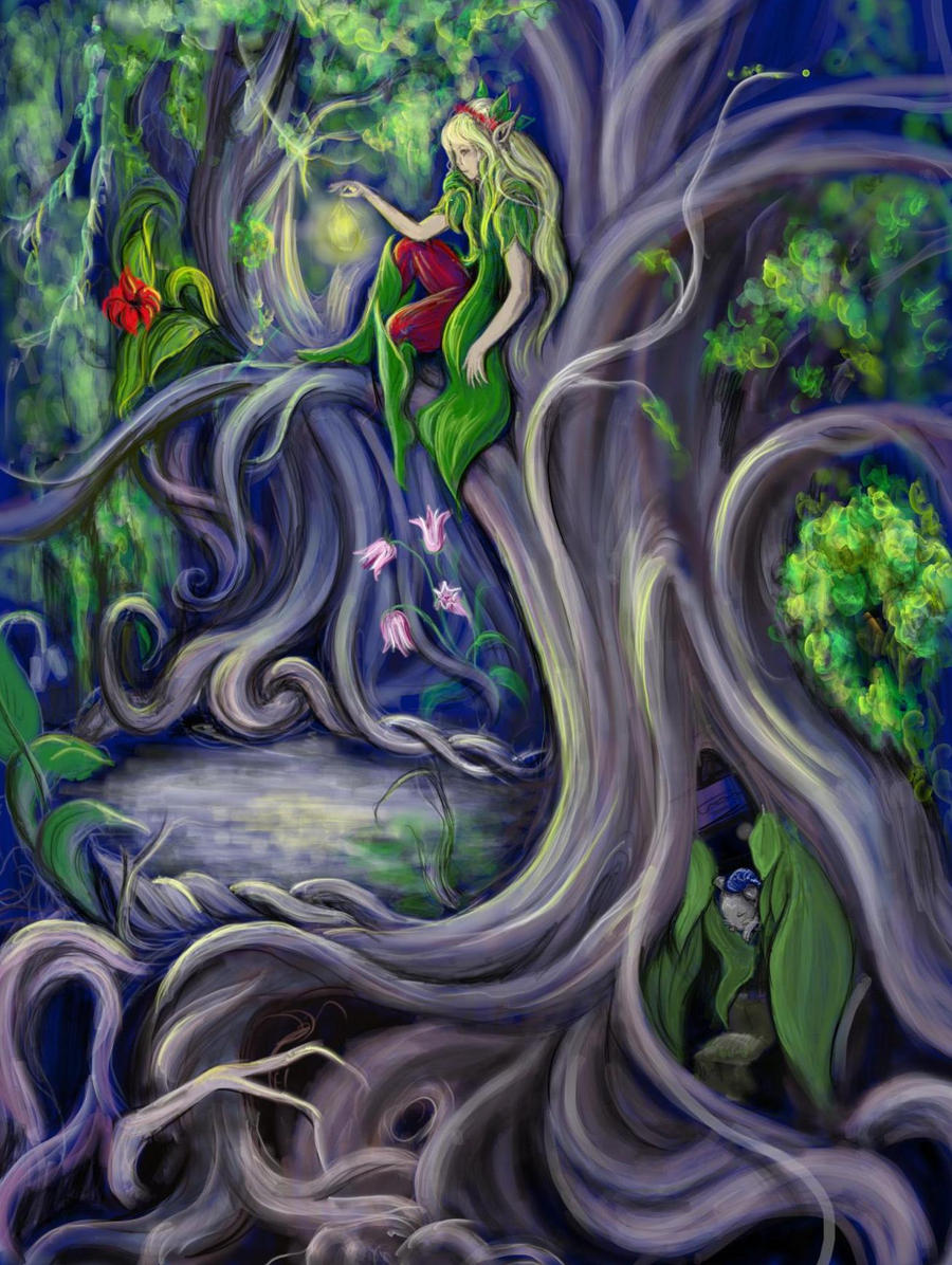 Worksheet Fairy Tree the fairy tree by xedden on deviantart xedden