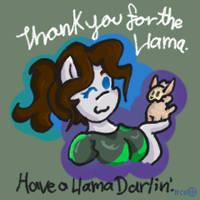 Have a Llama darlin by thetrueCrystalVixen