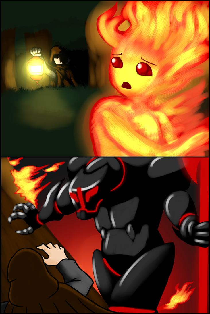 A Fire in the Forest by ProjectHazoid