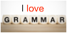 Grammar Love Stamp by stamperupper