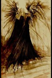 . defeated angel . by HeartySpades