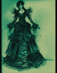 gothic femme. by HeartySpades